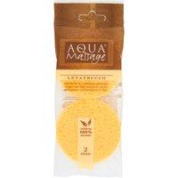 Aqua Massage Struccante Naturale 2 Spugne in vendita da Caddy's Shop Online in offerta