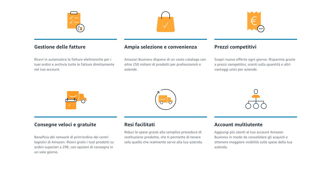 Amazon Business opportunità aziende e professionisti