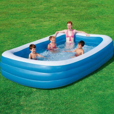 Vendita Bestway Bestway Piscina Blue Rectangular Family Pool 305x183x56cm in offerta web
