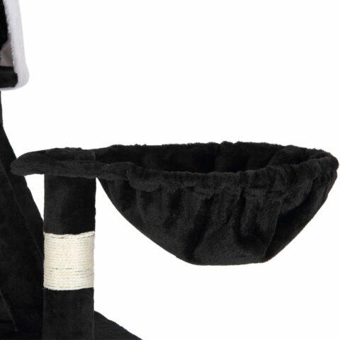 Vendita CADOCA Albero tiragraffi asoffitto nero-bainco 240-260cm in offerta web