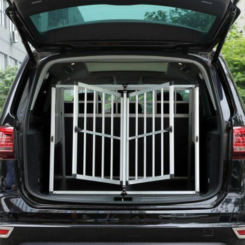 Vendita CADOCA Box per trasporto cani XXL alluminio 97x90x70cm in offerta web