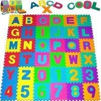 Vendita monzana® Tappetino schiuma puzzle multicolore in offerta online
