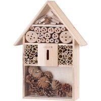 Vendita CADOCA Casetta per insetti in legno 48x31x10cm in offerta online
