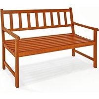 Vendita Casaria Panca da giardino Kensington legno acacia 120x90x50-58cm in offerta online