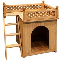 Vendita CADOCA Cuccia per cani con balcone in offerta online
