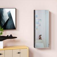 Vendita Casaria Armadio per Gioielli appendibile con specchio nero 31