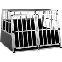 Vendita CADOCA Box per trasporto cani XXL alluminio 97x90x70cm in offerta online