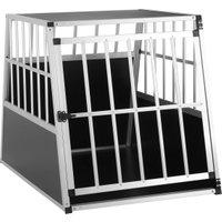 Vendita CADOCA Box per trasporto cani L alluminio 90x66x72cm in offerta online