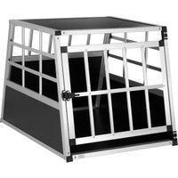 Vendita CADOCA Box per trasporto cani M alluminio 70x54x51cm in offerta online