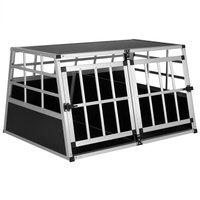 Vendita CADOCA Box per trasporto cani XL alluminio 89x70x51cm in offerta online