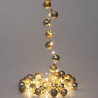 Vendita Casaria Catena di luci LED oro in offerta online