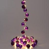 Vendita Casaria Catena di luci LED viola in offerta online
