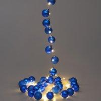Vendita Casaria Catena di luci LED blu in offerta online