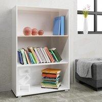 Vendita Casaria Libreria Vela 3 ripiani bianco 115x60x31cm in offerta online