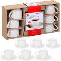 Vendita Alpina Set Tazzine Espresso APLINA 12 pezzi bianco in offerta online